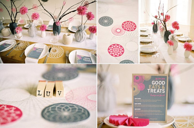 Gray And Pink Wedding Theme Ideas 2018
