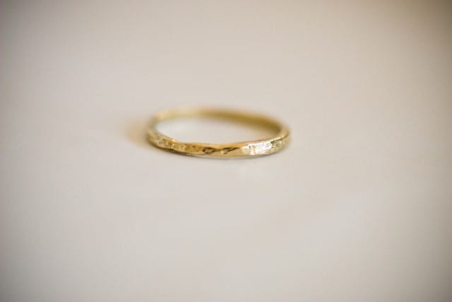 Handmade Wedding Bands From Oli Me The Sweetest Occasion Gold Band