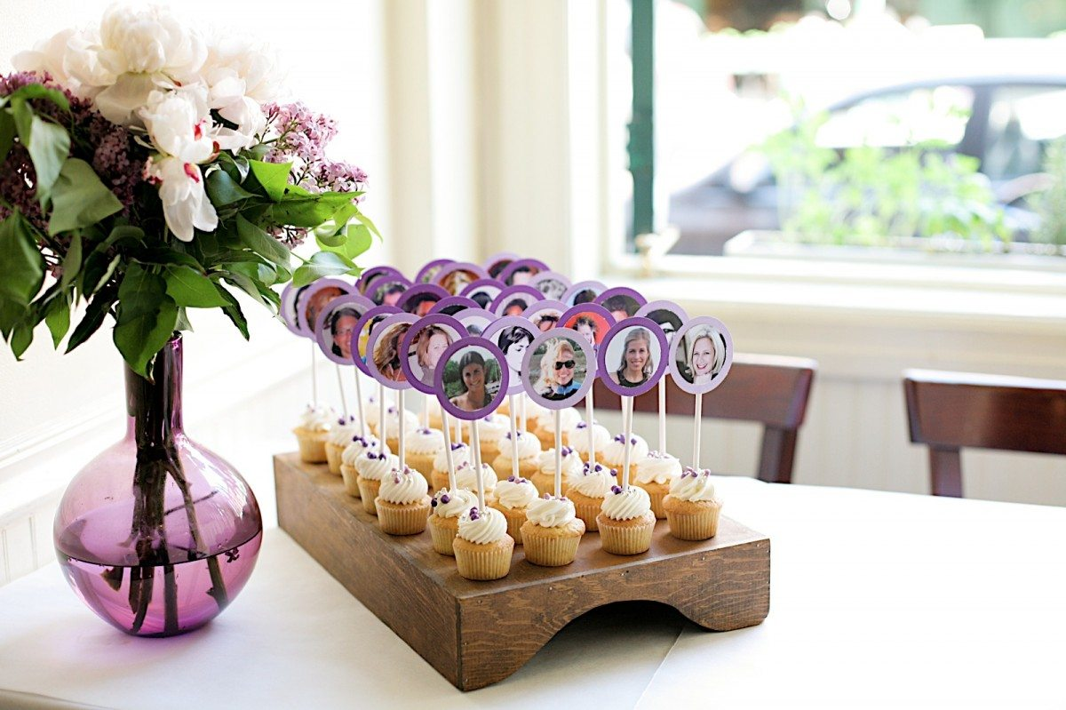 Wedding DIY: Table Cards Cupcakes